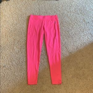 hot pink reebok leggings